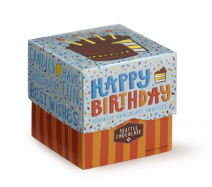Happy Birthday Box - Assorted Truffles