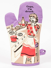 Load image into Gallery viewer, Oops I'm Drunk Oven Mitt