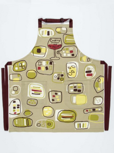 Cooking Makes Me Thirsty Apron