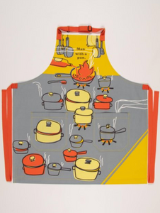 Man With A Pan - Apron