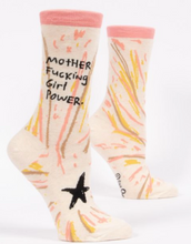 Load image into Gallery viewer, Mother F Girl Power Socks