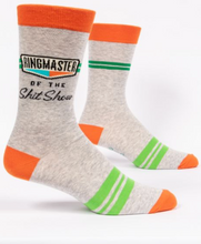 Load image into Gallery viewer, Ringmaster Shitshow Men's Crew Socks