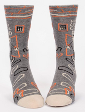 Load image into Gallery viewer, Here Comes Cool Dad Men's Crew Socks
