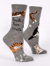 Load image into Gallery viewer, People I Love: Cats Crew Socks