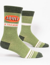 Load image into Gallery viewer, Adult in Training Men's Crew Socks