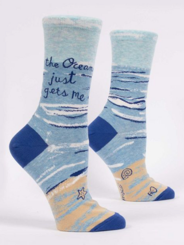 Ocean Gets Me Women's Crew Socks