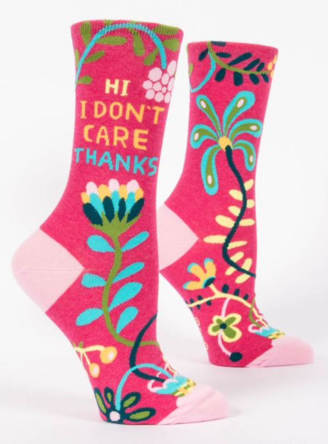 Hi I Don't Care Women's Crew Socks
