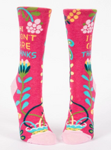 Load image into Gallery viewer, Hi I Don't Care Women's Crew Socks