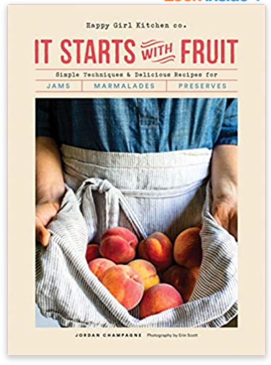 It Starts With Fruit Cookbook