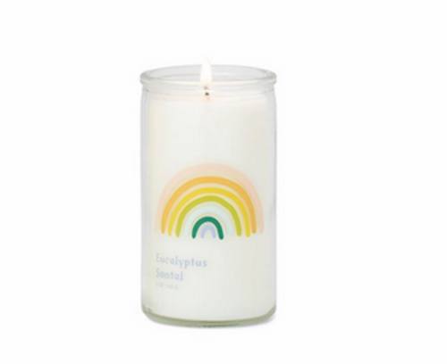 Rainbow - Small Prayer Candle