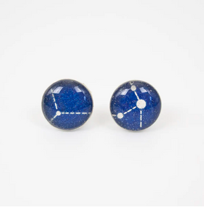 Small Celestial Stud Earrings