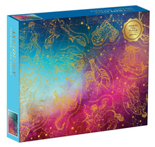 Load image into Gallery viewer, Astrology Foil 1000 Piece Puzzle