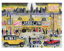 Load image into Gallery viewer, Jazz Age 1000 Piece Puzzle
