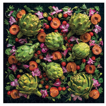 Load image into Gallery viewer, Artichoke Floral 500 Piece Puzzle
