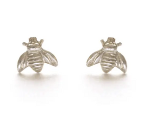 Sterling Silver Tiny Bee Posts