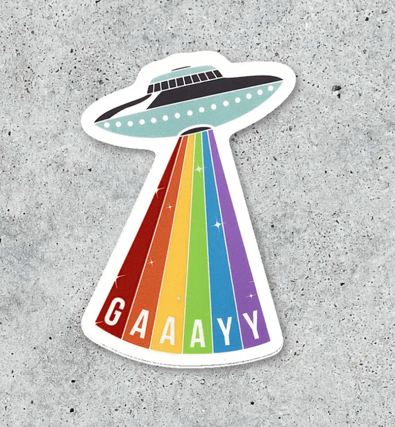 Sticker - Gay Rays