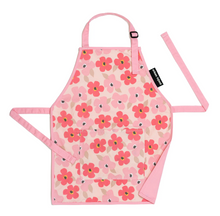 Load image into Gallery viewer, Kids Apron Big Pink Flowers