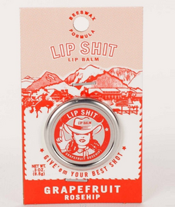 Lip Shit Grapefruit Rose