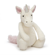 Load image into Gallery viewer, Bashful Unicorn Medium Stuffed Animal