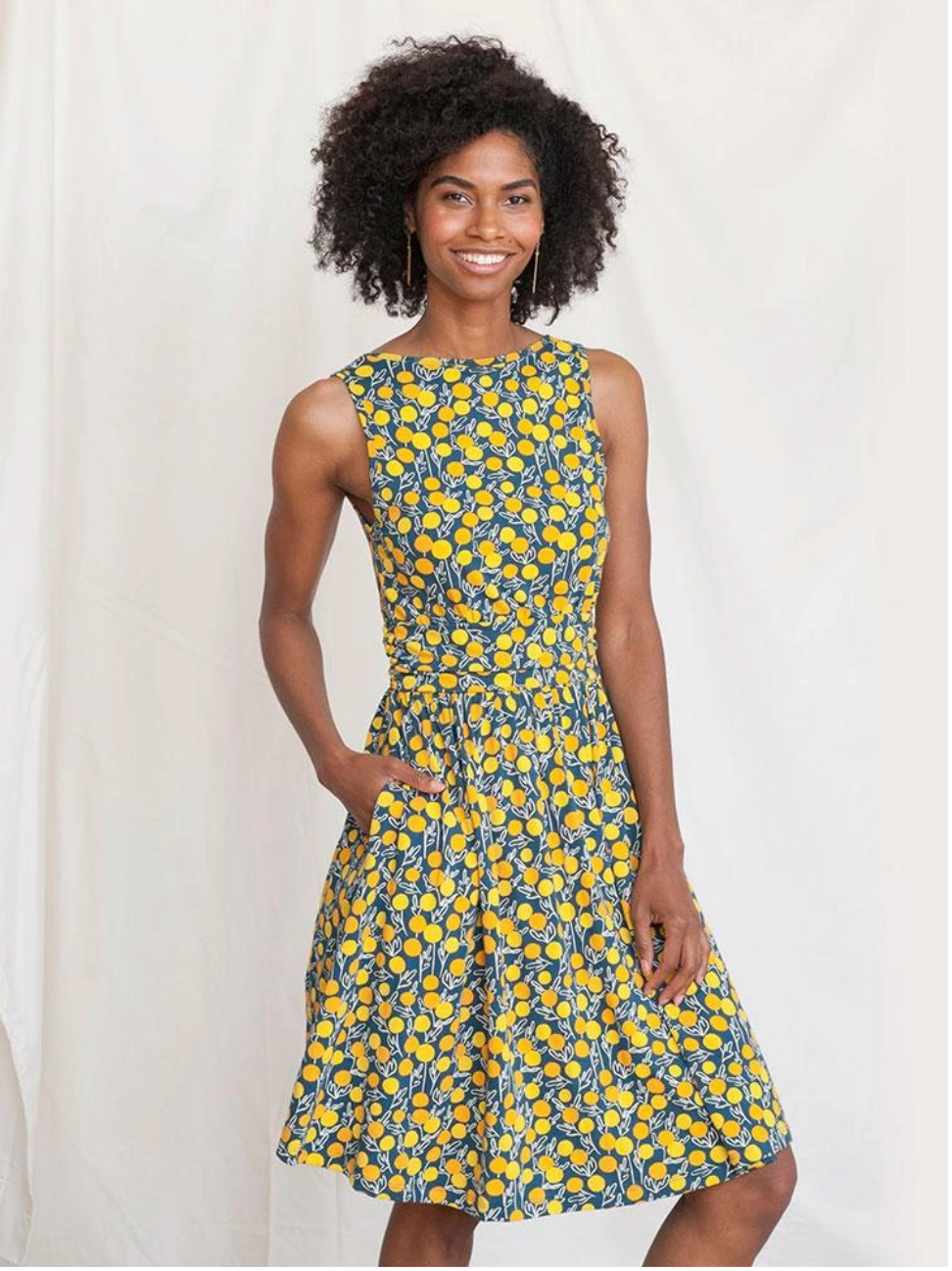 Asheville Dress Citrine XS
