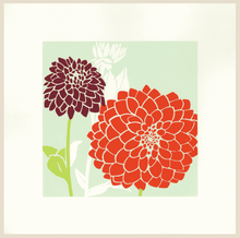 Load image into Gallery viewer, Kinaloon Wall Prints Dahlia