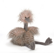 Load image into Gallery viewer, Odette Ostrich Stuffed Animal