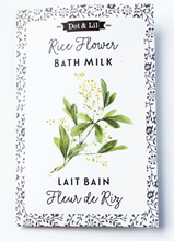 Load image into Gallery viewer, Dot & Lil Bath Milk Sachet Rice Flower