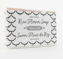 Load image into Gallery viewer, Dot & Lil Soap Bar Rice Flower