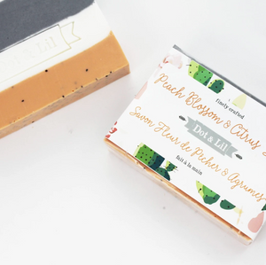 Dot & Lil Soap Bar Peach Citrus