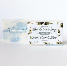 Load image into Gallery viewer, Dot & Lil Soap Bar Lilac Flower