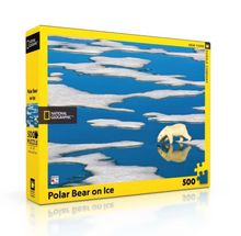 Load image into Gallery viewer, Polar Bear On Ice 500 pc Puzzle