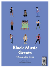 Load image into Gallery viewer, 40 Inspiring Icons: Black Music Greats