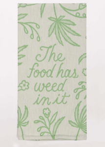 Blue Q Dish Towels $14 Food Has Weed