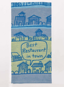 Blue Q Dish Towels $14 Best Restaurant