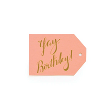 Load image into Gallery viewer, Yay Birthday Tags