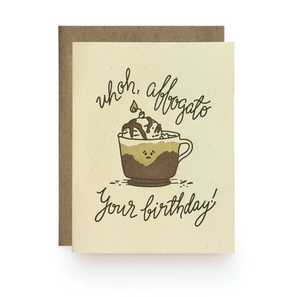 Affogato Birthday Card