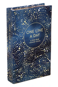 Celestial One Line A Day Memory Book