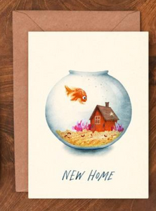 New Home Fishbowl Card