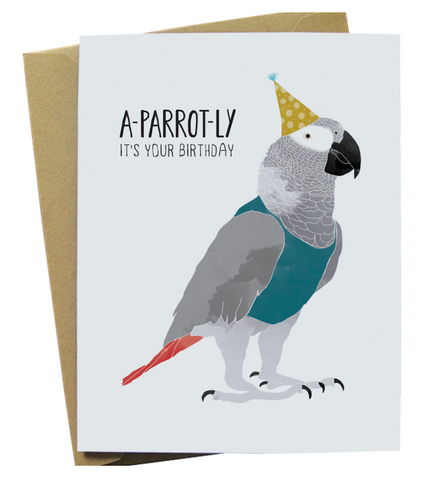 A Parrot-ly It's Your Birthday