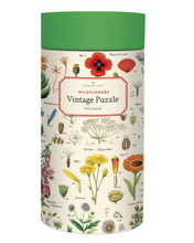 Load image into Gallery viewer, Cavallini 1000 Piece Puzzles Wildflowers