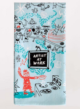 Load image into Gallery viewer, Blue Q Dish Towels $12 Artists At Work