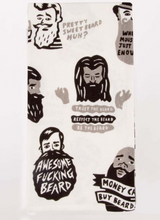 Load image into Gallery viewer, Blue Q Dish Towels $12 Awesome Beard