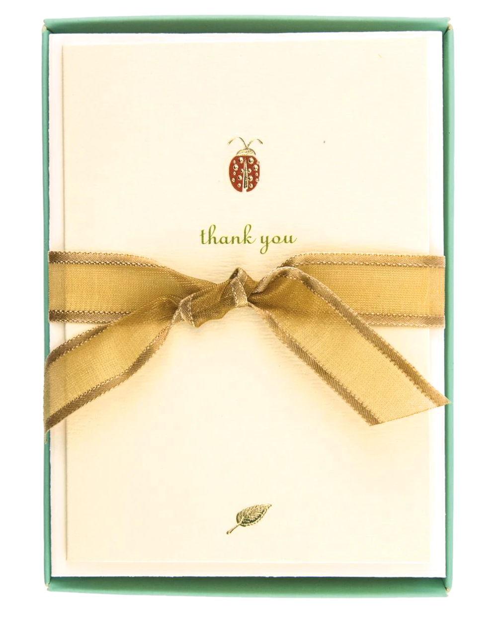 Lady Bug Thank You Card Box Set