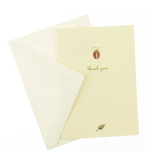 Load image into Gallery viewer, Lady Bug Thank You Card Box Set