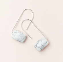 Load image into Gallery viewer, Scout Floating Earrings Howlite