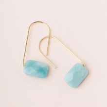 Load image into Gallery viewer, Scout Floating Earrings Amazonite
