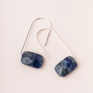 Scout Floating Earrings Lapis