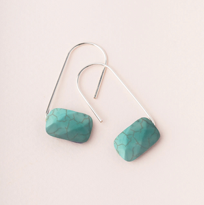 Scout Floating Earrings Turquoise