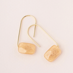 Scout Floating Earrings Citrine