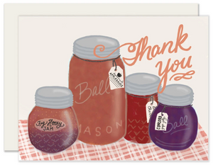 Canning Jams Thank You Card